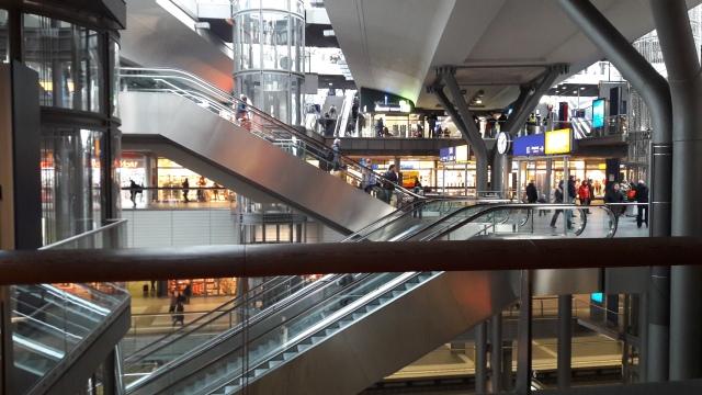 Berlino stazione interno