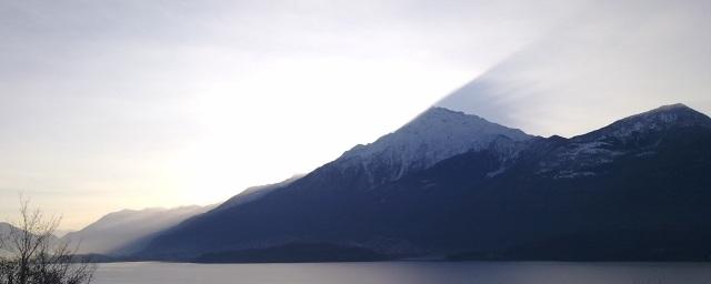 Alba lago como ridotto